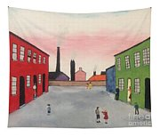 Lowry In Japanese Bloom Tapestry