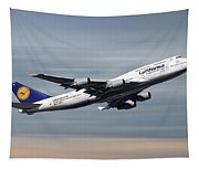 Lufthansa Boeing 747-430 Tapestry