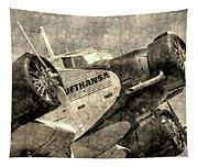 Lufthansa Junkers Ju 52 Vintage Tapestry