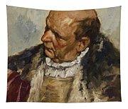 M Nnlicher Charakterkopf Tapestry