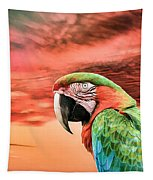 Macaw Parrot Tapestry