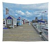 Macmillan Pier Provincetown Cape Cod Massachusetts 01 Tapestry