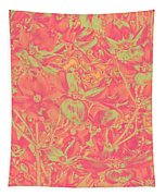 Magnolia Abstract Tapestry by Mae Wertz