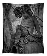 Magnolia Child Statue Tapestry