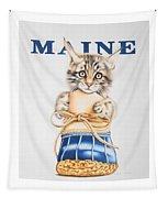Maine Coon Kitten Tapestry