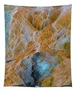 Mammoth Hot Springs Tapestry by Mae Wertz