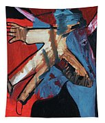 Man Flying Tapestry
