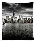 Manhattan Skyline Tapestry by Miles Whittingham