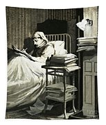Marcel Proust Sat In Bed Writing Remembrance Of Things Past Tapestry