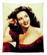 Maria Felix, Vintage Actress Tapestry