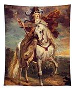 Marie De Medici At Pont De Ce Tapestry