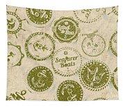 Maritime Motifs Tapestry