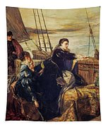 Mary, Queen Of Scots - The Farewell To France, 1867  Tapestry