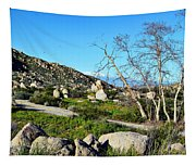 Maze Stone Road Tapestry