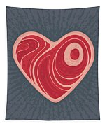 Meat Heart Tapestry