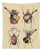 Meet The Beetles Tapestry