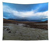 Meltwater Valley On Svalbard Tapestry