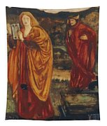 Merlin And Nimue 1861 Tapestry