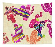 Mexican Mural Tapestry
