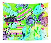 Mexicana Mixup Tapestry