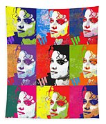 Michael Jackson Andy Warhol Style Tapestry