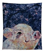 Micro Pig Tapestry