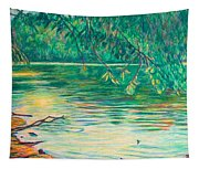 Mid-spring On The New River Tapestry