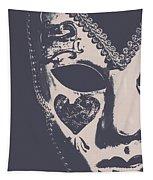 Midnight Frill Tapestry