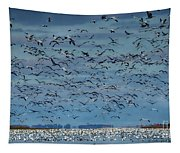 Migration Of The Snow Geese Tapestry
