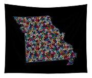 Missouri Map - 2 Tapestry