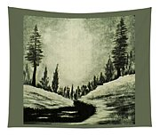 Misty Dawn Number Three Tapestry
