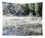 Misty River Tapestry
