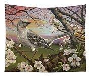 Mockingbird Sunset Tapestry