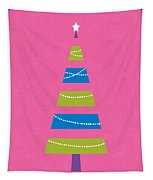 Modern Glam Christmas Tree 2- Art By Linda Woods Tapestry