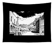 Mogollon New Mexico Ghost Town Tapestry