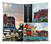 Mol Maestro Collage Tapestry
