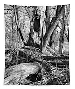 Monochrome Woods 2 Tapestry