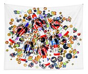 Monster Toy Soldiers Tapestry