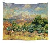 Mont Sainte-victoire, 1889 Tapestry