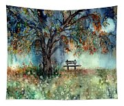 Moonlight Shadows Tapestry