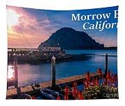 Morrow Bay California Tapestry