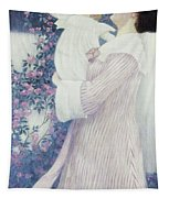 Mother And Child By Wilhelm List Tapestry