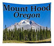Mount Hood Oregon In Fall Tapestry
