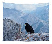 Mountain Jackdaw Tapestry