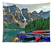 Mountain Tranquility Tapestry
