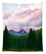 Mountain And Sky Tapestry