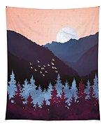 Mulberry Dusk Tapestry