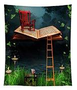 My Book Said Come Fly With Me Tapestry