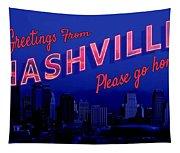 Nashville Postcard Tapestry