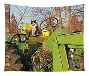 New Hired Hand Tapestry